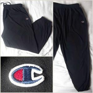 Vtg Champion Jogger Sweatpants Low Hang Crotch XL